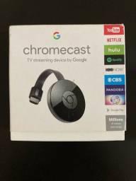 Chrome Cast Google pouquíssimo usado