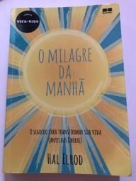 Livro o milagre da Manhã - Hal Elrod