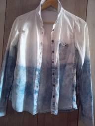jaqueta degradê hering