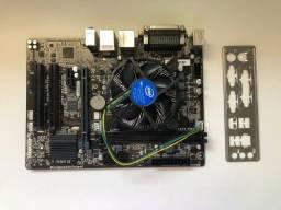 Título do anúncio: KIT Processador I3 7100 Kaby Lake 3,9hz LGA 1151 com Placa mãe H110M