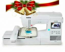 Máquina de bordar 12x 324.00 no cartão