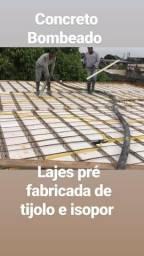 LD mix Lajes pré fabricada de tijolo e concreto