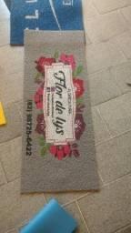 Tapetes personalizados de boa qualidade e entrega a domicílio