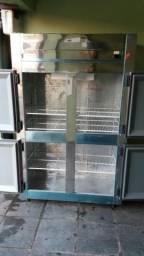 Freezer inox 1000 litros 127v