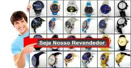 Relógios para revender - receba nosso catálogo