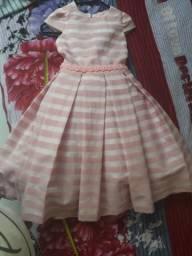 Vestido luxo 6 anos