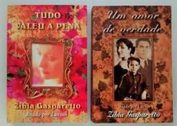 Lote Zibia Gasparetto - Tudo Valeu A Pena + Um Amor De Verdade