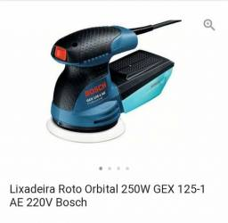 Lixadeira roto orbital Bosch