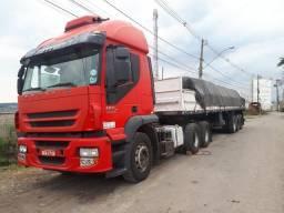 Troca Iveco Stralis 460 6x4 por bi-truck - 2011