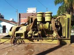 Grupo gerador motor 6 cil detroit diesel