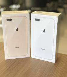 IPhone 8 Plus 64 NOVO/ Caixa/ Garantia de 1 Ano Apple