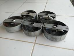 Molas para porta de aço