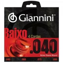 Encordoamento Para Contrabaixo Geebrl 0.40 Giannini