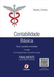 Contabilidade Básica 14 Edição - ótimo estado