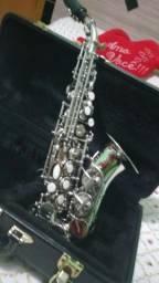Sax sopranino niquelado