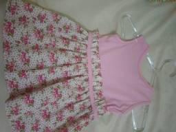 Vestido Rosa novo