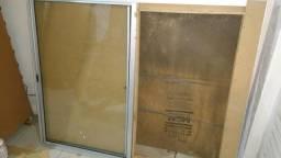 Janela aluminio 1.50 x 1.20 nova na caixa