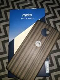 Moto style shell lúna (compatível com toda linha z)