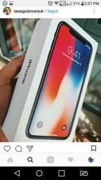 Iphone x 64 lacrado com nf e garantia