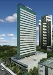 Apartamento com 1 dormitório à venda, 21 m² por r$ 218.900 - boa viagem - recife/pe