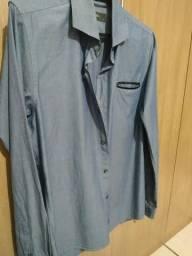 3cbea42b55 Camisa social slim POLO