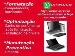 Formatação Computadores e Notebooks e outros