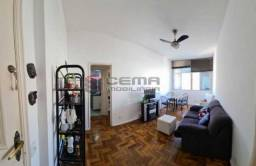 Apartamento à venda com 1 dormitórios em Laranjeiras, Rio de janeiro cod:LAAP12754
