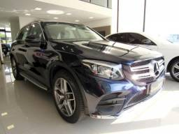 MERCEDES-BENZ GLC 250 2019 2.0 CGI GASOLINA HIGHWAY 4MATIC 9G-TRONIC AZUL TOP DE LINHA C/