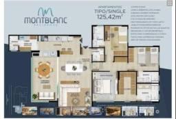 Apartamento com 3 dormitórios à venda, 125 m² por R$ 870.000 - Residencial Interlagos - Ri