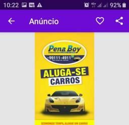 """""""ALUGA-SE"""" LOCADORA de CARROS Pena boy"""
