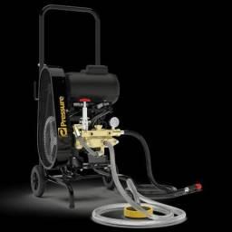 Lavadora Pressure Aqua alta pressão 3400 motor WEG 3 CV trifásico
