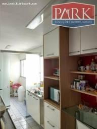 : Apartamento em Zona Leste todo Mobiliado 127m2 nos fundos da Aespi