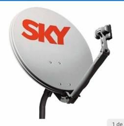 Vendo antena sky usada