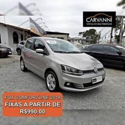 Volkswagen Fox 1.6 Comfortline - Completo - 2018