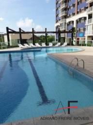 Apartamento com 3 quartos, vista mar, Condomínio Jardins de Atlântida