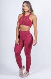 Conjunto fitness luxo