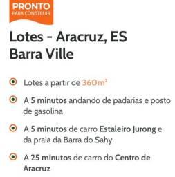 Barra Ville - LOTE 364m2 - Barra do Sahy - Aracruz