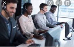 Atendentes de telemarketing