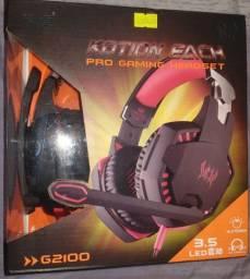 Headset profissional EACH G2100