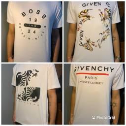 Pacote com 9 camisas