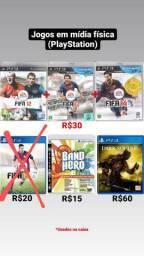 Jogos de PlayStation - Band Hero | FIFA 12, 13, 14 & 15 | Dark Souls 3