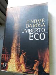 Livro O nome da rosa - Umberto Eco