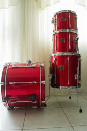 Pearl Export Series Cardinal Red Anos 90