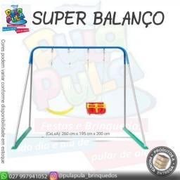 Venda - Super Balanço com estrutura metálica