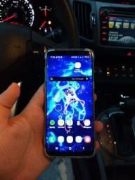 Samsung galaxy s8 64GB tela trincada caixa e nota fiscal