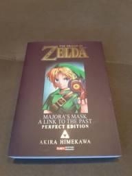 "Livro ""The legend of Zelda - Majora's Mask a link to the past"""