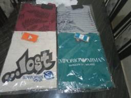 Camisas cores variadas