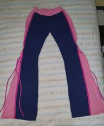 Calça bailarina azul