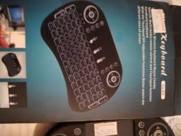 Mini teclado universal novo USB pra tv box computador notebook celular etc ...