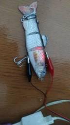Peixe Robótico Elétrico